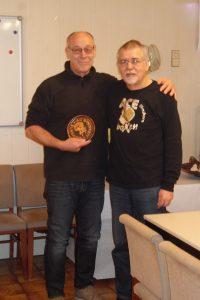 Hermann Meier (li.): 45 Jahre Mitglied im AC Einigkeit Elmshorn