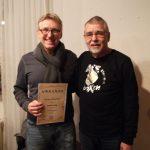 Joachim Lang (li.): 25 Jahre Mitglied im AC Einigkeit Elmshorn