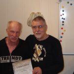 Rolf Betke (li.): 40 Jahre Mitglied im AC Einigkeit Elmshorn