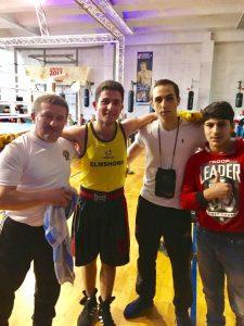 von li.: Zekeriya, Murat, Samvel + Erik in Berlin