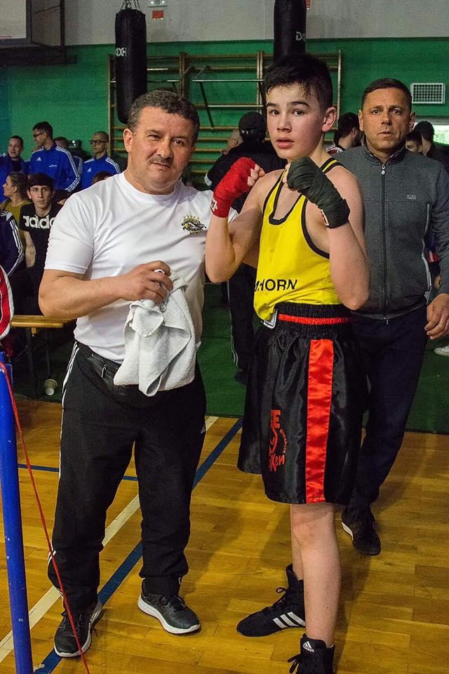 Zekeriya Yücel (li.) + Kevin Kasputtis in Berlin