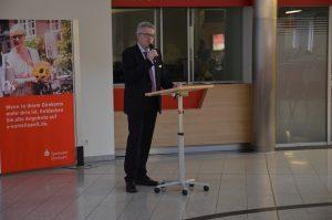 Karsten Tiedemann, KSV, beim Vortrag.
